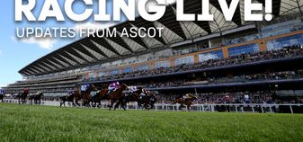 Follow all the action from Ascot live with us