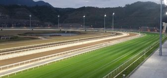 The new racecourse at Conghua