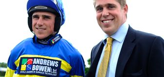 Jockey Harry Skelton had a five-timer, four of which were for his brother, Dan
