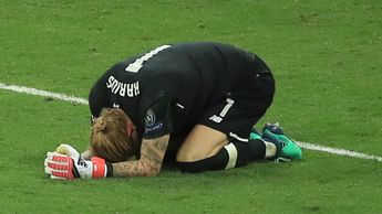 Loris Karius is left devastated by his mistakes