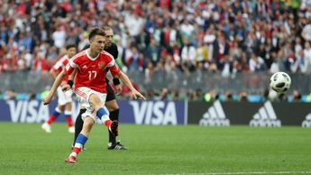 Aleksandr Golovin starred for Russia in their 5-0 win over Saudi Arabia