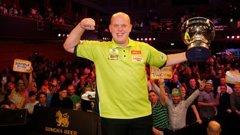 Michael van Gerwen is the defending champion (Lawrence Lustig PDC)