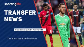 The latest confirmed deals and latest rumours for 20th June 2018