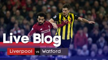 Our live blog of Liverpool's clash against Watford