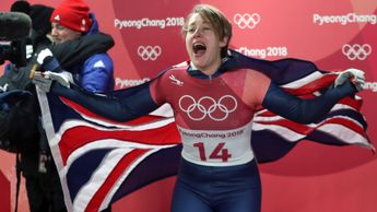 Celebration time for Lizzy Yarnold