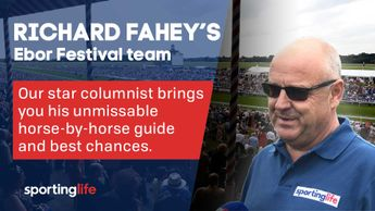 Richard Fahey brings you his guide to his Ebor Festival team