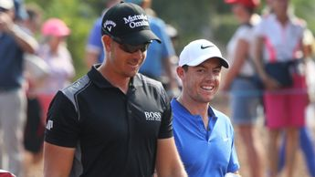 Henrik Stenson and Rory McIlroy - outside the top 30