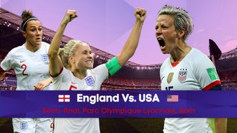 England take on USA in the Women's World Cup semi-final