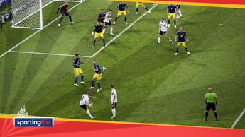 Toni Kroos scores for Germany against Sweden