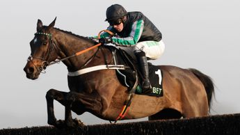 The brilliant Altior on his way to winning at Kempton