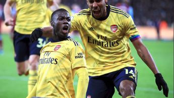 Njcolas Pepe and Pierre-Emerick Aubameyang earned Arsenal a timely win
