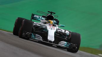 Lewis Hamilton was the man to beat on Friday