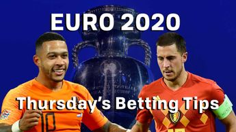 Check out our best bets for Euro 2020 qualifying