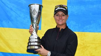 Anna Nordqvist came out on top after a play-off