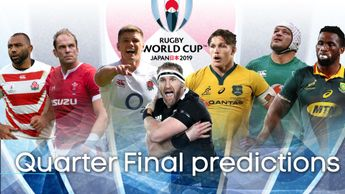 Gareth Jones predicts the outcome of the Rugby World Cup quarter finals