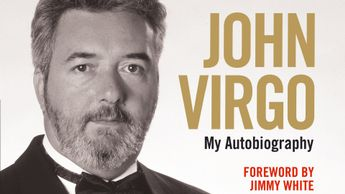 John Virgo's autobiography is out now