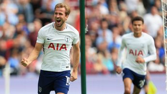 Harry Kane celebrates
