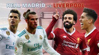 Real Madrid face Liverpool in the Champions League final