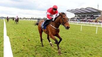 Paul Townend is all smiles on Laurina at Fairyhouse