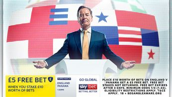 Sky Bet's Super Match offer continues with England v Panama