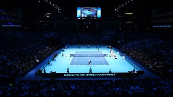 The ATP Finals take place in London's O2 Arena