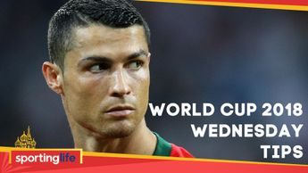 Cristiano Ronaldo features heavily in Wednesday's World Cup tips