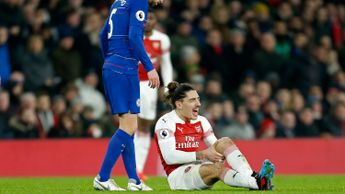 Hector Bellerin: The Arsenal and Spain defender ruptured his knee ligaments against Chelsea