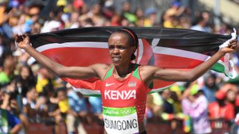 Jemima Sumgong has been banned for four years