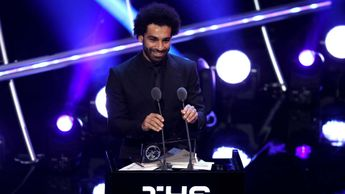 Mohamed Salah wins FIFA goal of the year award