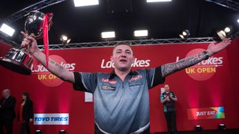 Nathan Aspinall is the UK Open champion (Picture: Lawrence Lustig/PDC)