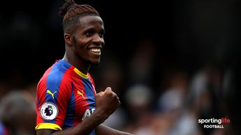 Wilfried Zaha has signed a new deal with Crystal Palace