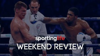 Anthony Joshua's win over Alexander Povetkin was one of the big sporting headlines of the weekend