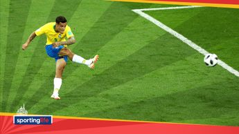 Coutinho's wonderful effort gave Brazil the lead