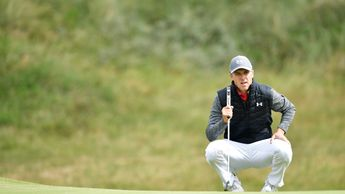 Jordan Spieth in action at Royal Birkdale