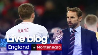 Follow our live coverage of England v Montenegro from Wembley