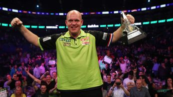 MVG is the defending Premier League Darts champion (Picture: Lawrence Lustig/PDC)