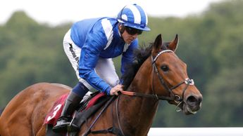 Battaash is out on his own in the Temple Stakes