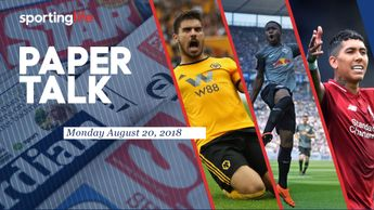 Paper Talk: Ruben Neves, Ademola Lookman and Roberto Firmino all feature