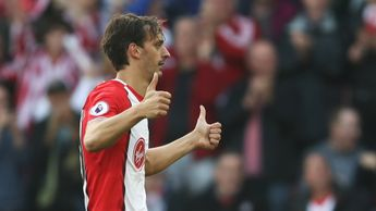 Manolo Gabbiadini celebrates