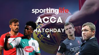 Sporting Life Accumulator: Matchday 4