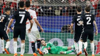 David de Gea kept it goalless between Sevilla and Manchester United