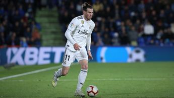 Gareth Bale: Real Madrid attacker in action at Getafe