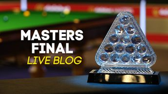 Stay on top of all the action from the Masters snooker final