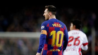 Lionel Messi again starred for Barcelona