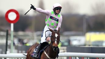 Ruby Walsh reacts to Min's brilliant Aintree victory