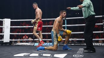 Callum Smith floors Erik Skoglund