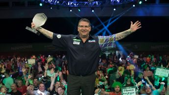 Gary Anderson won the Champions League of Darts (Picture: Lawrence Lustig)