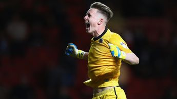 Dean Henderson will be hopeful of more celebrations at full-time on Sunday