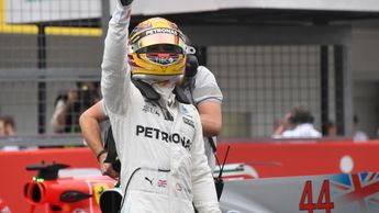 Lewis Hamilton secured pole at Suzuka