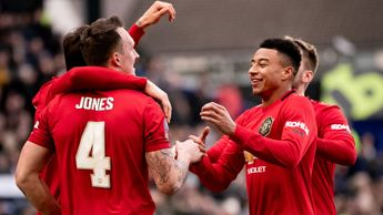 Phil Jones and Jesse Lingard were on the scoresheet